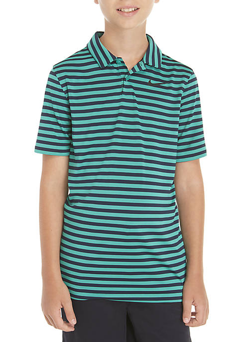 Boys 8-20 Dry Victory Striped Golf Polo