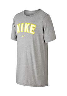 Boys 8-20 Nike Logo Block Tee