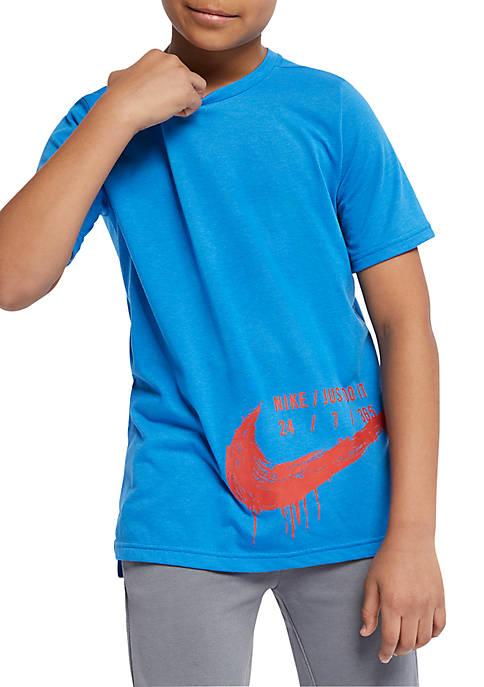 Nike® Boys 8-20 Dri-FIT Breathe Short Sleeve Training
