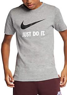 Nike® Boys 8-20 Just Do It Swoosh T-Shirt