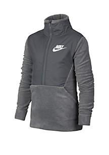 Boys 8-20 Winterized Half-Zip Jacket