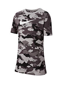 Nike® Boys 8-20 Sportswear Camo T Shirt