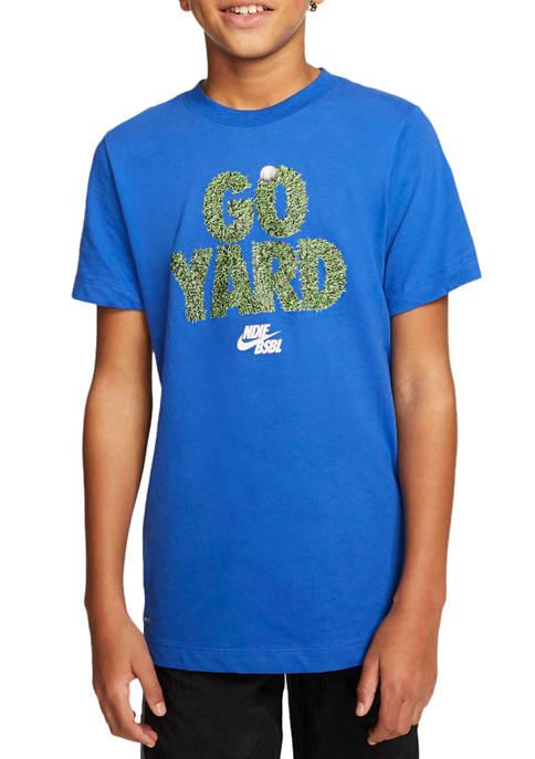Nike® Boys 8-20 Go Yard Short Sleeve T-Shirt