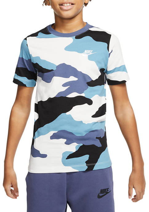 Nike® Boys 8-20 Camo Futura T-Shirt