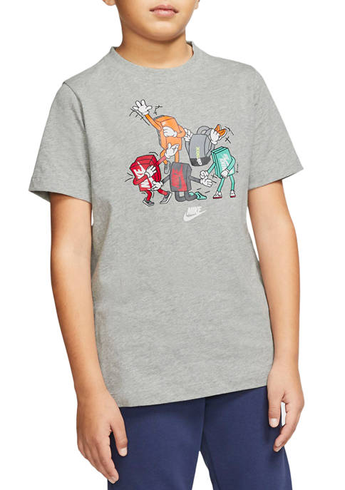 Nike® Boys 8-20 Shoebox Figures Graphic T-Shirt