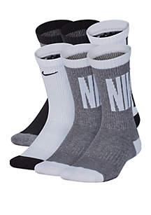 Nike® Boys 8-20 Everyday Cushioned Crew Socks