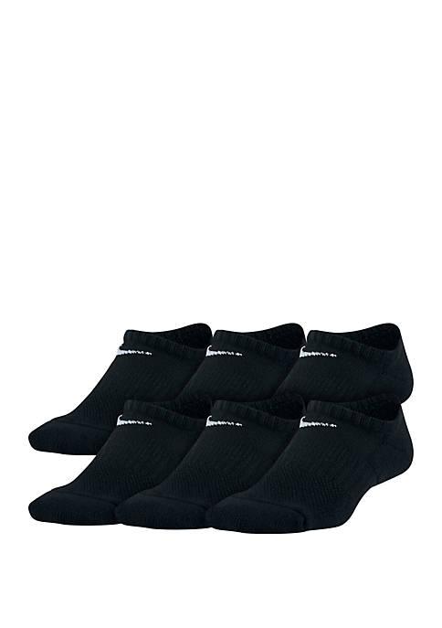 Nike® Boys 8-20 Performance Cushioned No-Show Training Socks