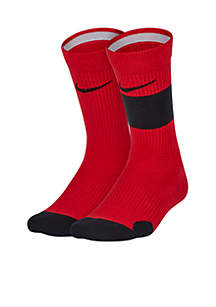 Boys Elite Crew Socks