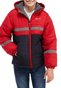 Boys 8-20 Colorblock Puffer Jacket
