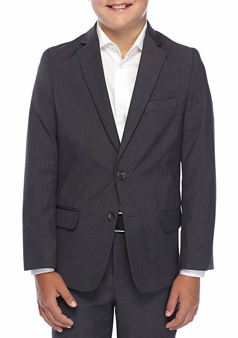 Calvin Klein Boys 8-20 Basic Fine Line Blazer