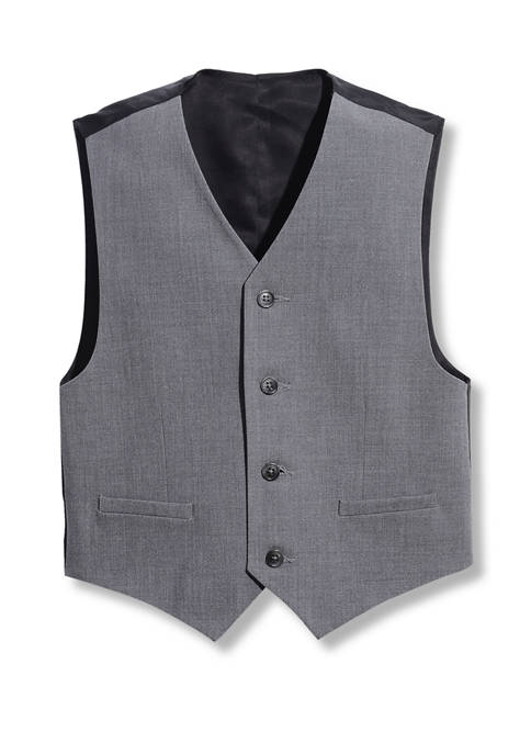 Calvin Klein Boys 8-20 Infinite Gray Vest