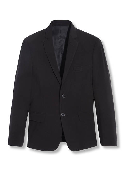 Calvin Klein Boys 8-20 Infinite Black Stretch Jacket