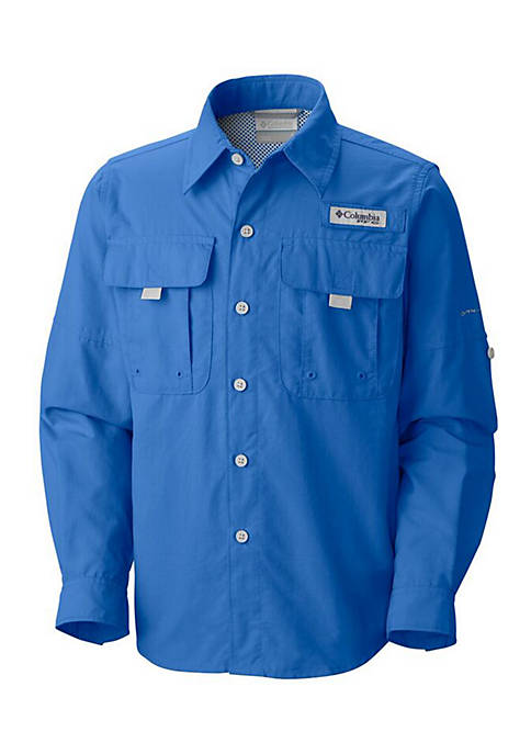Boys 4-20 PFG Bahama Nylon Long Sleeve Shirt