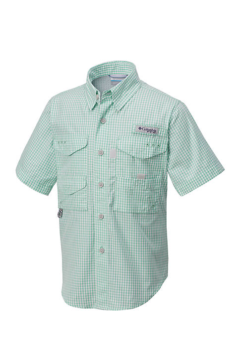 Columbia PFG Bonehead Button-Front Shirt Boys 8-20