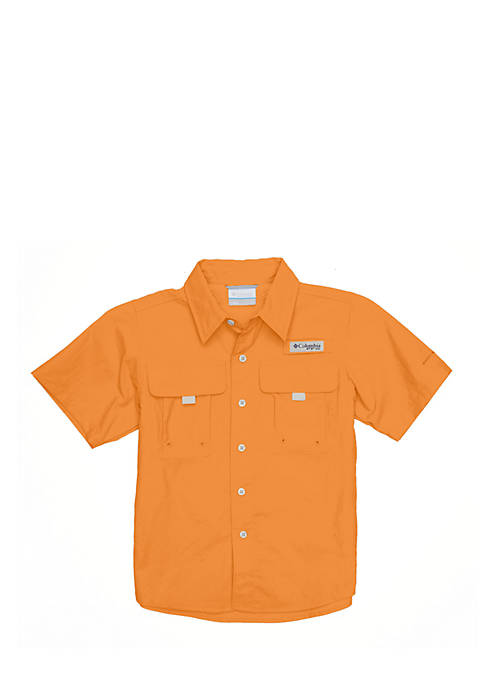 Columbia Short Sleeve Bahama Shirt Boys 8-20