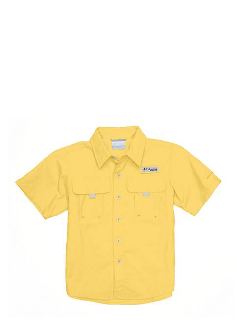 Columbia Short Sleeve Bahama Shirt Boys 8-20