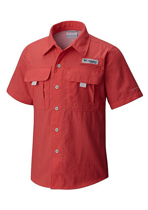 Columbia Boys 8-20 PFG™ Bahama Nylon Short Sleeve