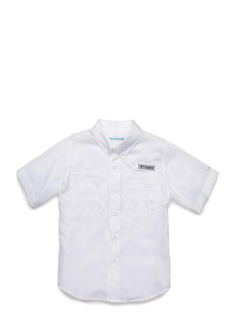 Columbia Boys 8-20 PFG Tamiami Short Sleeve Shirt
