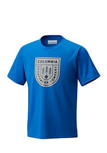 Badge N' Flag Short Sleeve Shirt Boys 8-20