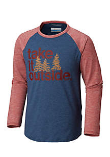 Boys 8-20 Take It Outside Long Sleeve Tee