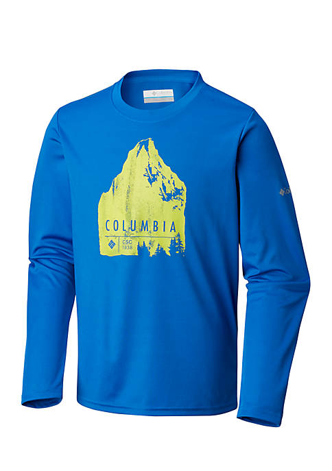 Columbia Boys 8-20 Trail Tearin Long Sleeve Tee