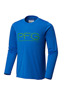 Boys 8-20 PFG Triangle Long Sleeve Tee