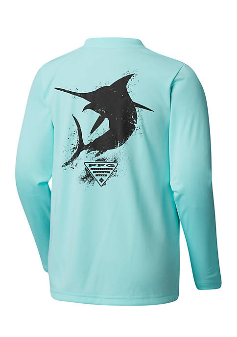 Boys 8-20 Long Sleeve PFG Marlin T Shirt