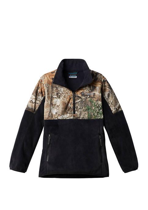 Columbia Boys 8-20 PHG Overlay Fleece Hoodie