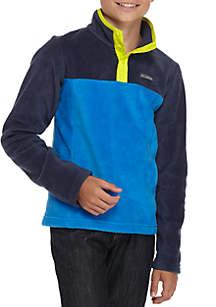 Boys 8-20 Flattop Ridge™ Half Snap Pullover