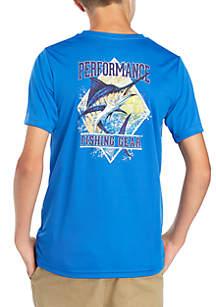 Boys 8-20 PFG Gull Pond Short Sleeve Shirt