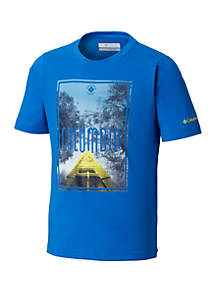 Columbia Boys 8-20 Camp Champs™ Short Sleeve Shirt