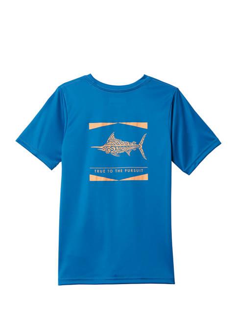 Columbia Boys 8-20 PFG™ Offshore Short Sleeve Shirt
