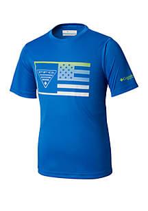 Columbia Boys 8 - 20 PFG™ Stamp Short Sleeve Shirt
