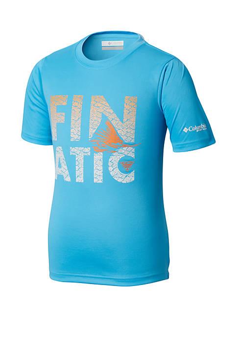 Columbia Boys 8-20 PFG™ Finatic Short Sleeve Shirt