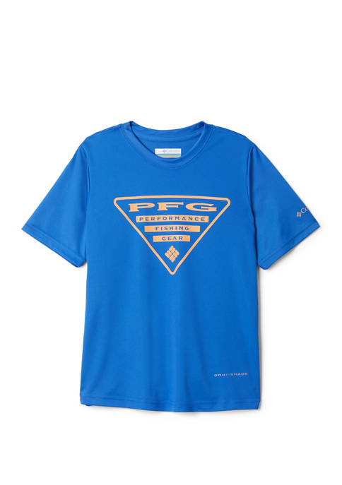 Columbia Boys 8-20 Printed Logo Graphic T-Shirt
