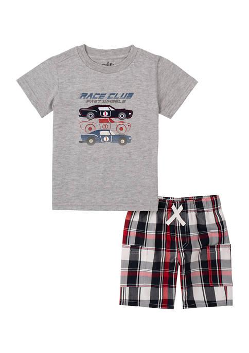 Kids Headquarters Boys 4-7 Race Club T-Shirt and