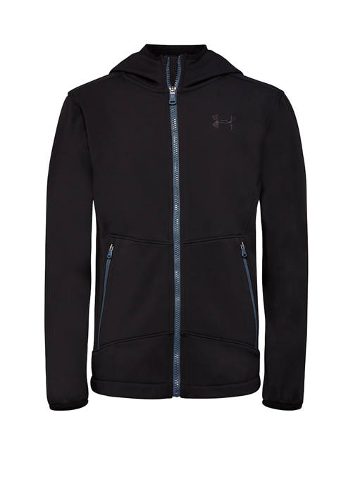 Under Armour® Boys 8-20 Soft Shell Hooded Jacket