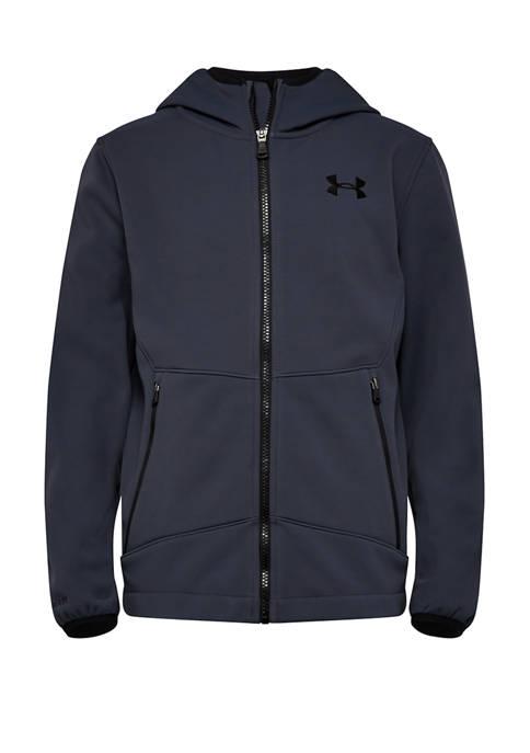 Boys 8-20 Shoftshell Hooded Jacket