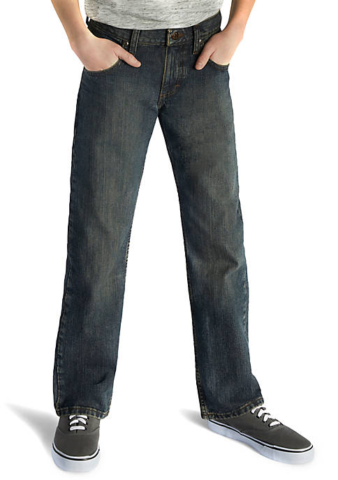 Lee® Relaxed Fit Straight Leg Jeans Boys 8-20