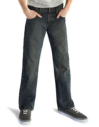 a68cebc7 Lee® Boys 8-20 Husky Relaxed Fit Straight Leg Jeans | belk