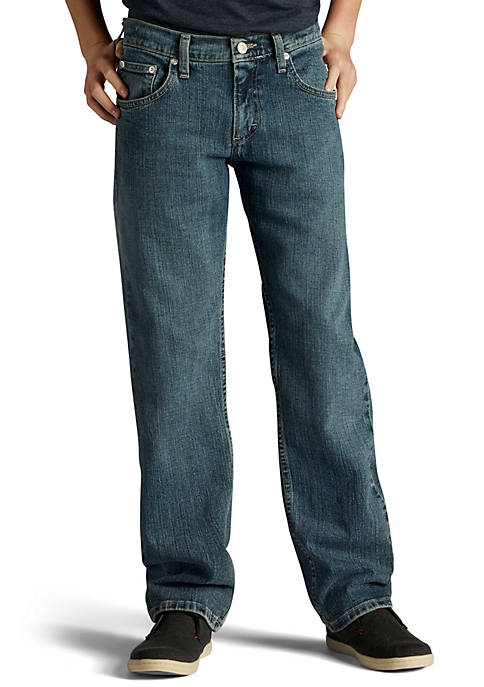 Lee® Straight Fit Jeans Boys 8-20 Husky