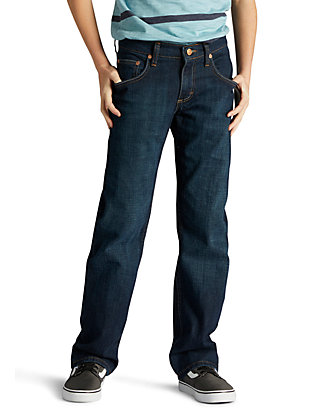 305c3ace Lee® Boys 8-20 Husky Straight Fit Jeans | belk