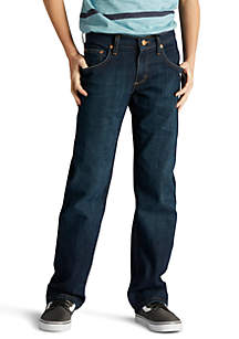 Lee® Boys 8-20 Husky Straight Fit Jeans