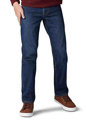 3d99b52ba Lee® Boys 8-20 Husky Extreme Comfort Straight Tapered Jeans ...