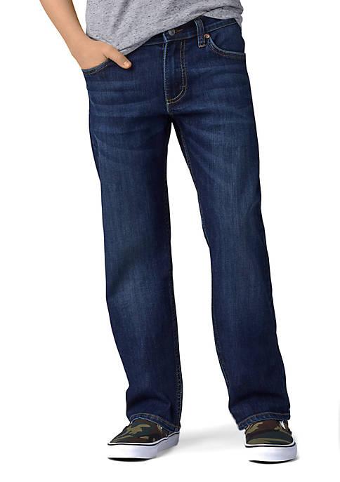 Lee® Boys 8-20 Husky Straight Fit Stretch Boy