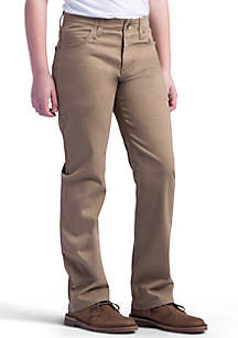 Lee® Boys 8-20 X Treme Comfort Straight Leg Khaki Pants