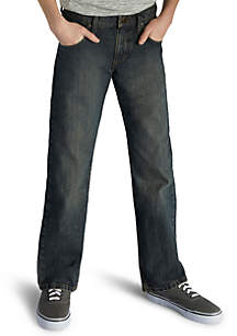 Relaxed Straight Fit Jeans Boys 8-20