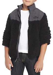 Boys 8-20 Berber Jacket