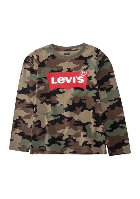 Boys 4-7 Camouflage Logo Graphic T-Shirt