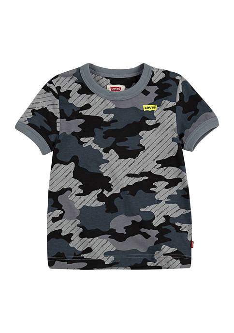 Levi's® Boys 4-7 Camouflage Print T-Shirt